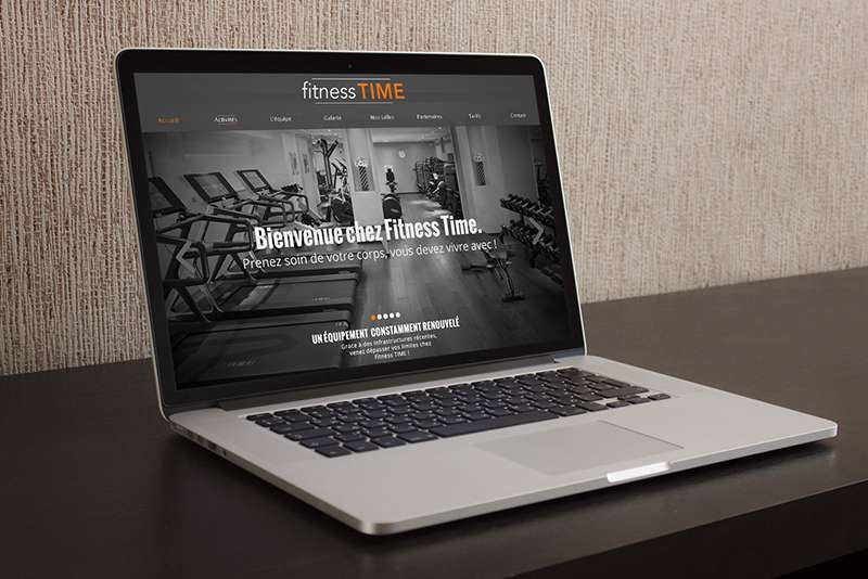 webdesign fitness time alex ledu
